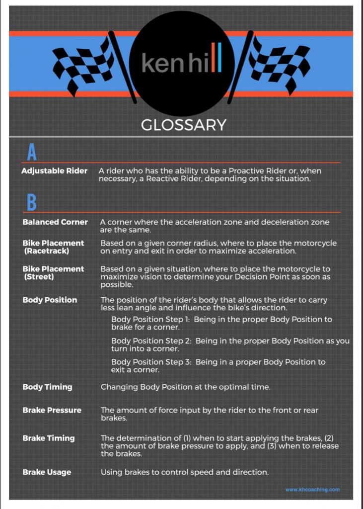 KHC Glossary